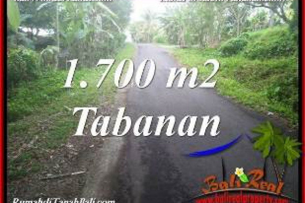 Affordable TABANAN BALI 1,700 m2 LAND FOR SALE TJTB385