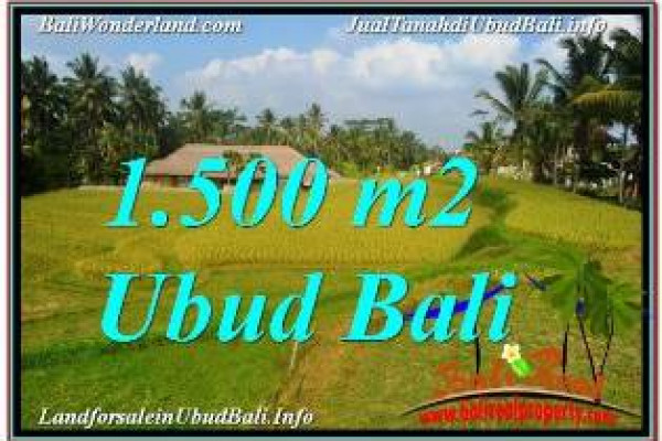 Magnificent LAND FOR SALE IN UBUD TJUB668