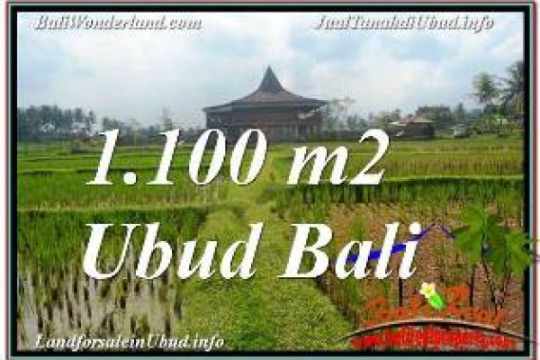 Beautiful PROPERTY UBUD BALI LAND FOR SALE TJUB670