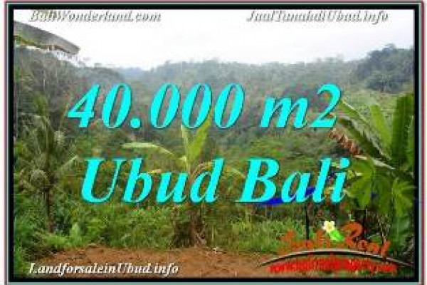 Magnificent PROPERTY LAND FOR SALE IN UBUD PAYANGAN TJUB679