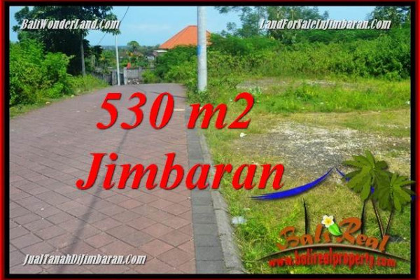 Magnificent 530 m2 LAND FOR SALE IN JIMBARAN ULUWATU BALI TJJI127