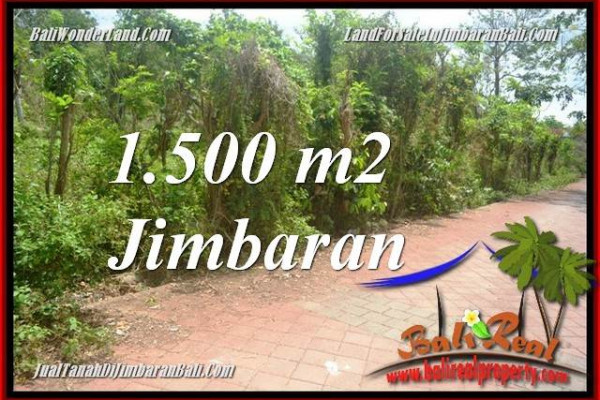 FOR SALE Exotic 1,500 m2 LAND IN JIMBARAN ULUWATU BALI TJJI128