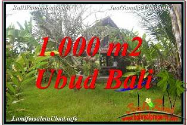 Exotic UBUD BALI LAND FOR SALE TJUB680