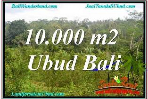 Exotic LAND IN UBUD BALI FOR SALE TJUB681