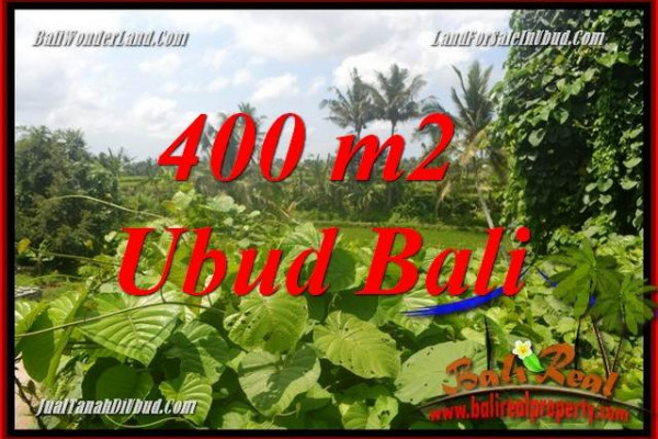 Beautiful Sentral Ubud 400 m2 Land for sale TJUB684