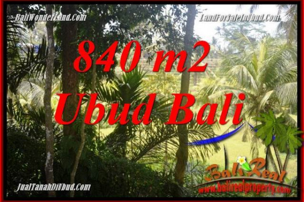 Magnificent 840 m2 Land in Lod Tunduh Bali for sale TJUB685
