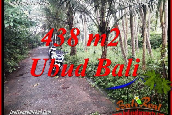 FOR sale Affordable Property 438 m2 Land in Ubud Bali TJUB689