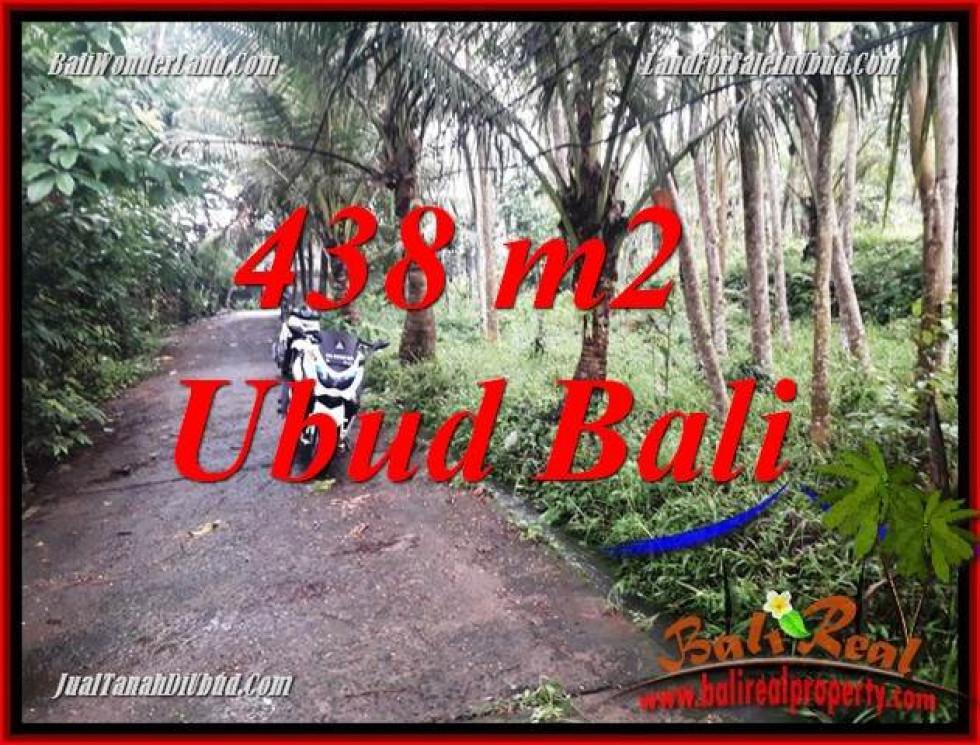 FOR sale Affordable Property 438 m2 Land in Ubud Bali TJUB689