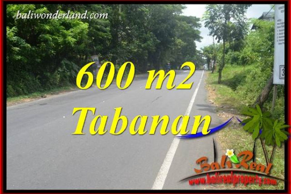 Affordable 600 m2 Land in Tabanan Bali for sale TJTB401