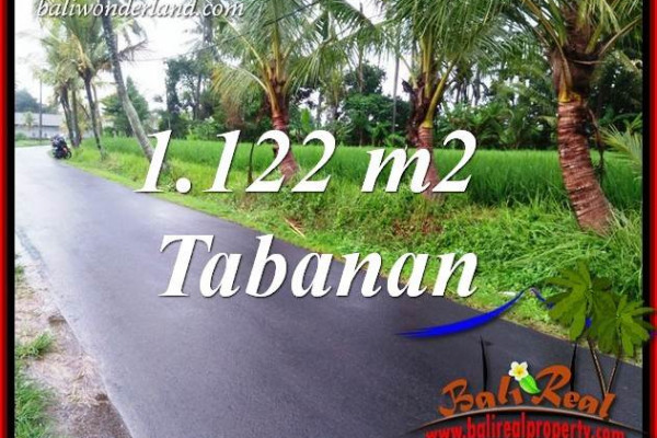 Affordable Property Land in Tabanan for sale TJTB404
