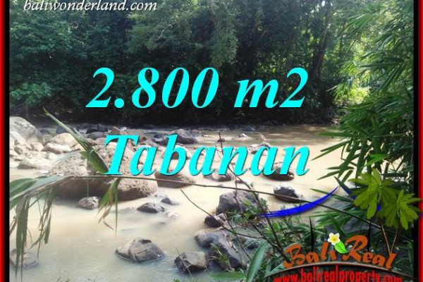 Affordable Property 2,800 m2 Land for sale in Tabanan Selemadeg Bali TJTB411