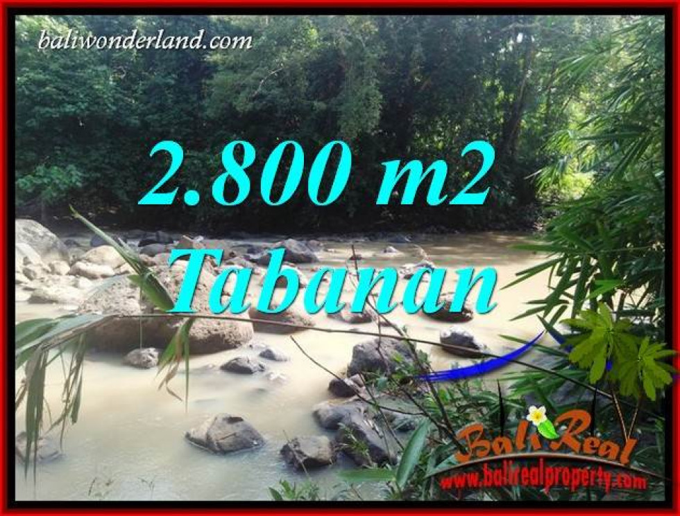Tabanan Bali 2,800 m2 Land for sale TJTB411