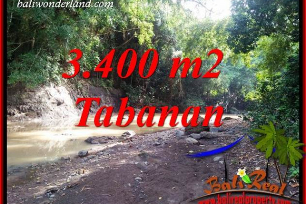 Exotic Property Land sale in Tabanan Bali TJTB412