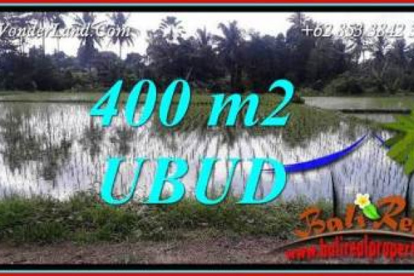 Affordable Property Sentral Ubud Bali 400 m2 Land for sale TJUB721