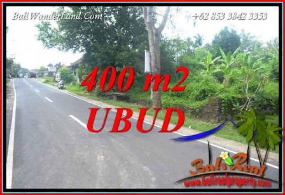 Magnificent Sentral Ubud Bali 400 m2 Land for sale TJUB725