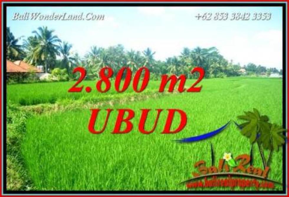 Beautiful Land for sale in Ubud Bali TJUB726