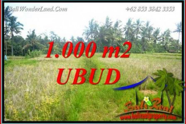 FOR sale Beautiful Property Land in Ubud Bali TJUB727