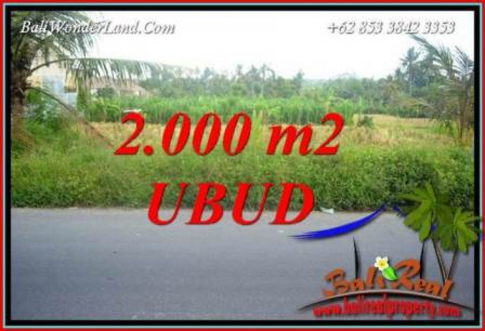 FOR sale Beautiful Property Land in Ubud Bali TJUB737