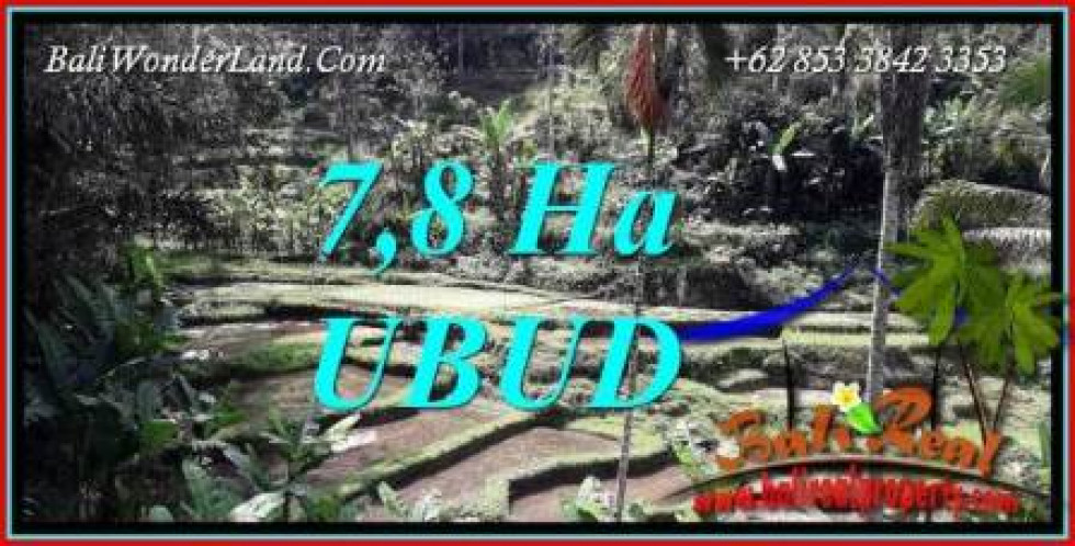 Affordable Property Ubud Payangan Bali 78,000 m2 Land for sale TJUB741