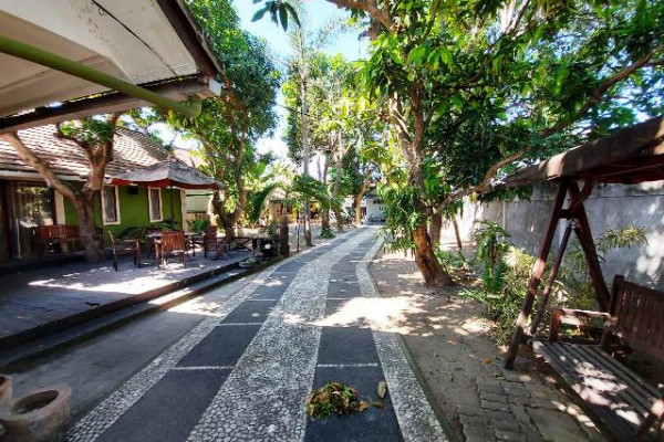 A Nice House with Large size of Land near Sanur Beach for Sale