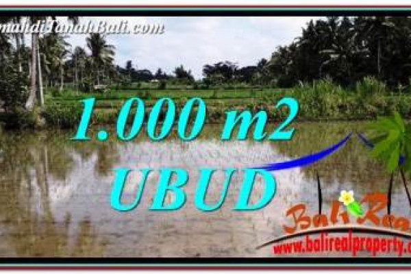 Affordable PROPERTY LAND IN UBUD FOR SALE TJUB753