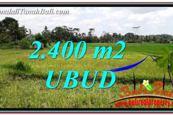 Magnificent 2,400 m2 LAND FOR SALE IN Ubud Tampak Siring TJUB757