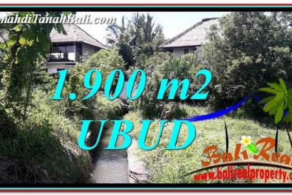 Beautiful PROPERTY 1,900 m2 LAND IN Ubud Gianyar BALI FOR SALE TJUB759