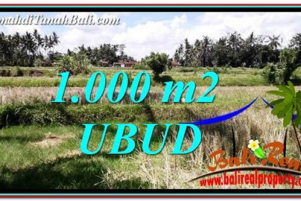 LAND IN UBUD FOR SALE TJUB760