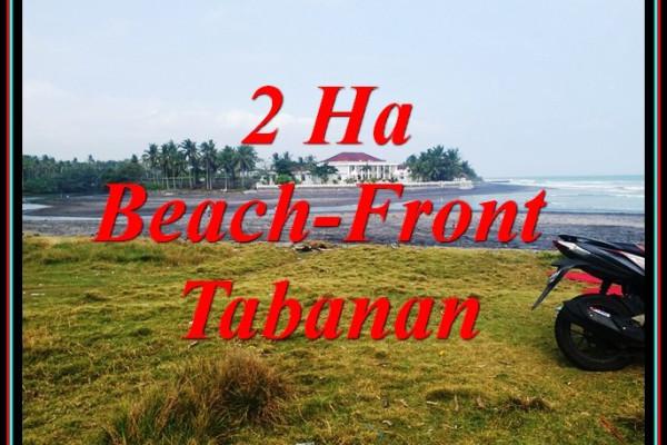 Cheap property LAND IN KERAMBITAN TABANAN FOR SALE TJTB490
