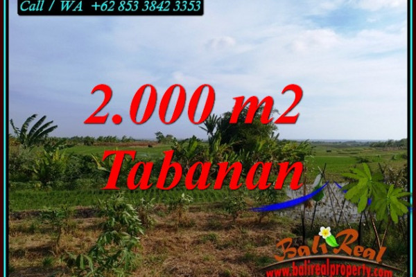 FOR SALE Magnificent LAND IN TABANAN BALI TJTB492