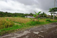 Land for sale in Ubud suitable for villa  – TJUB105