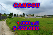 Land for sale in Canggu 1.000 m2 in Canggu Brawa – TJCG091E