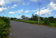 Land for sale in Jimbaran Bali Suitable for villa  – TJJI028