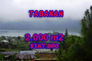 Land for sale in Bali, Fantastic view in Tabanan Bali – 2.000 m2 @ $ 84