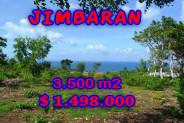 Amazing Property in Bali, Land for sale in Jimbaran Bali – 3.500 sqm @ $ 428