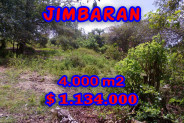 Land for sale in Bali Indonesia, Exceptional property in Jimbaran Bali – 4.000 sqm @ $ 283