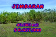 Impressive Property in Bali, Land for sale in Jimbaran Bali – 40.000 m2 @ $ 217