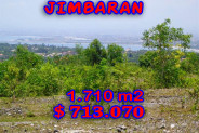 Land for sale in Bali, Outstanding view in Jimbaran Bali – 1.710 m2 @ $ 417