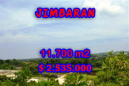 Exceptional Property in Bali, Land for sale in Jimbaran Bali – 11.700 m2 @ $ 217