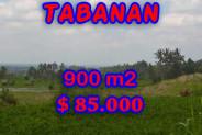 LAND FOR SALE IN TABANAN Bali, Fantastic view in JATILUWIH TABANAN Bali – TJTB077