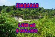 Land for sale in Bali, Fantastic view in Jimbaran Bali – 1.600 m2 @ $ 539