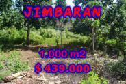 Amazing Property in Bali, Land for sale in Jimbaran Bali – 1.000 m2 @ $ 439