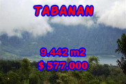 Fabulous Property in Bali, Land for sale in Tabanan Bali – 9.442 m2 @ $ 39