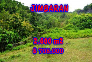 Land for sale in Bali, Spectacular view in Jimbaran Bali – 2.600 m2 @ $ 272