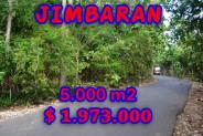 Astonishing Property in Bali, Land for sale in Jimbaran Bali – 5.000 m2 @ $ 394