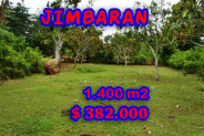 Land for sale in Bali, Magnificent view in Jimbaran Bali – 1.400 m2 @ $ 272
