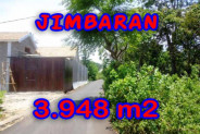 Exceptional Property in Bali, Land in Jimbaran Bali for sale – 3.948 m2 @ $ 306
