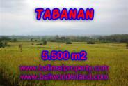 Land in Bali for sale, attractive view in TABANAN KERAMBITAN Bali – TJTB069
