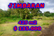 Exotic Property for sale in Bali, Land in Jimbaran for sale – 425 m2 @ $ 317