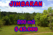 Land in Bali for sale, Stunning Property in Jimbaran Bali – 200 m2 @ $ 222
